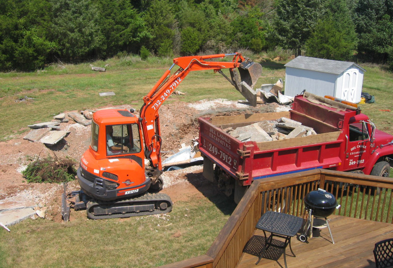 Excavating Contractors in Central Jersey